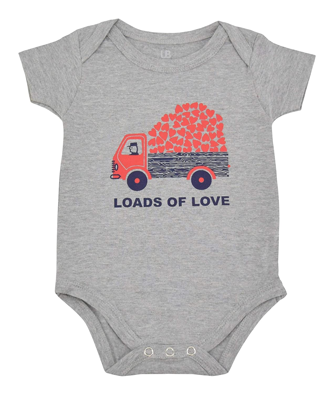 Unique Baby Unisex Loads of Love Valentines Day Layette Headband