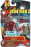 "Marvel Iron Man 2 Movie 3 3/4"" Movie Series Iron Man Mark VI Action Figure with Projectiles"
