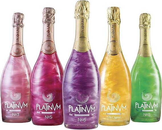 Pack vinos espumosos Platinvm 75cl- ideal Navidad, cumpleaños ...