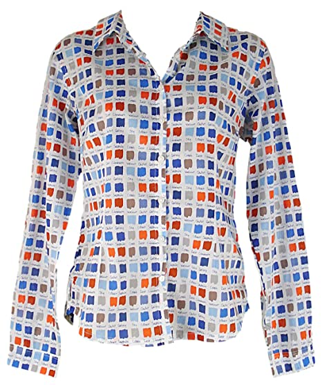 f49acb687856b Seasalt - Chemisier - Col Chemise Classique - Femme - multicolore - 36:  Amazon.fr: Vêtements et accessoires