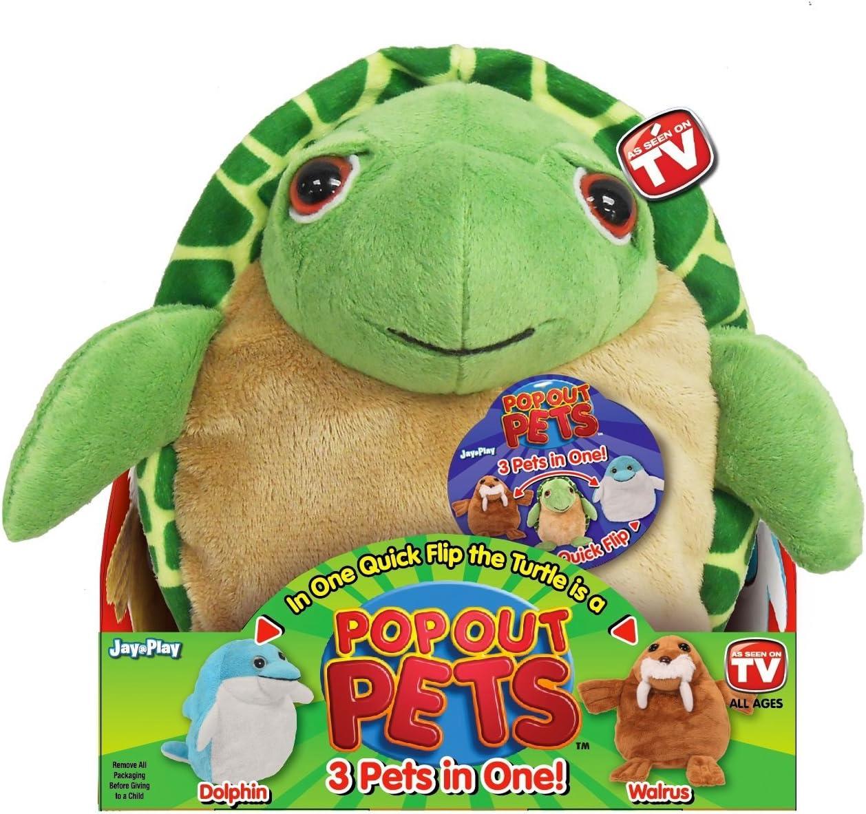 Amazon.com: Mascotas de océano, juguete reversible de ...