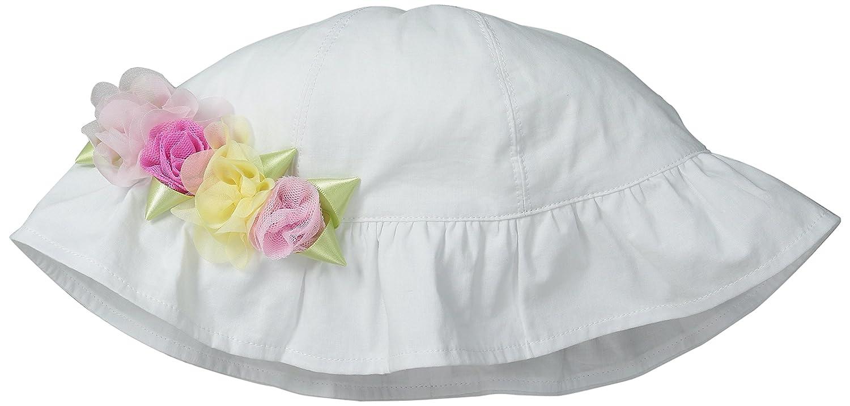 2-4T White Kate Mack Girls Little Radiant Roses Swim Hat