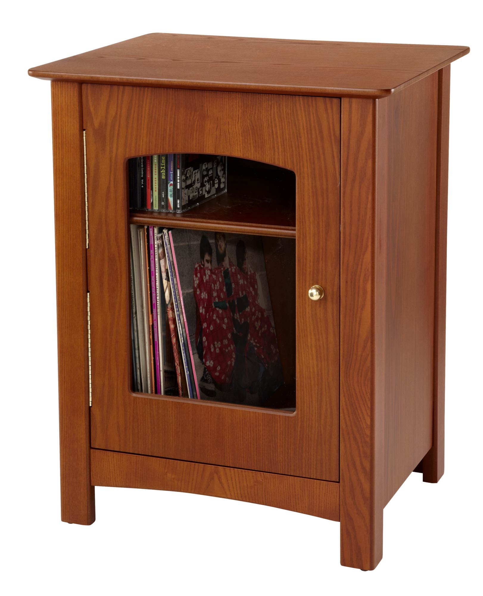 Crosley ST75-PA Bardstown Entertainment Cabinet, Paprika by Crosley