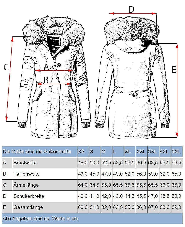 Marikoo Karmaa Cappotto Invernale da Donna XS-5XL 19 Colori XS-XXL