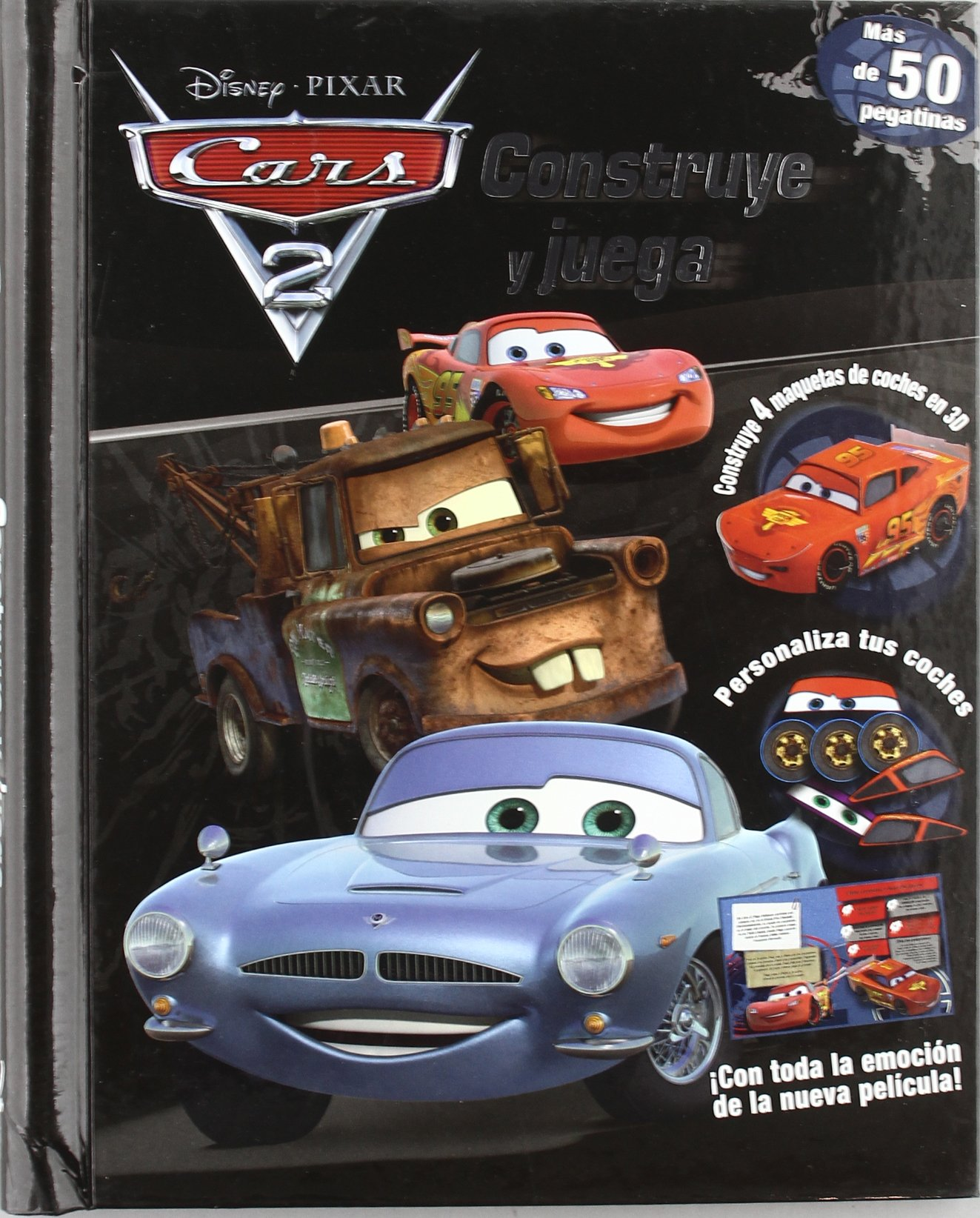 CARS CONSTR-JU: Libros Disney: 9788499512600: Amazon.com: Books