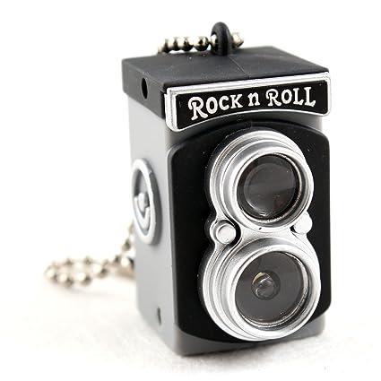 Mini cámara Vintage Gadget Juguete Llavero Flash Linterna ...