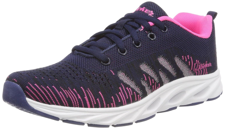 Rieker N9300, Zapatillas para Mujer 37 EU|Multicolor (Navy-pink)