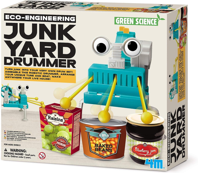 4M Eco-Engineering Junkyard Drummer Kit di Costruzione