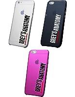 Cover IPHONE X- 8 - 8 -PLUS 6 - 6 PLUS - 6S - 6S plus - 7 - 7 plus - GREY'S ANATOMY Trasparente VARI COLORI UltraSottili AntiGraffio Antiurto Case Custodia