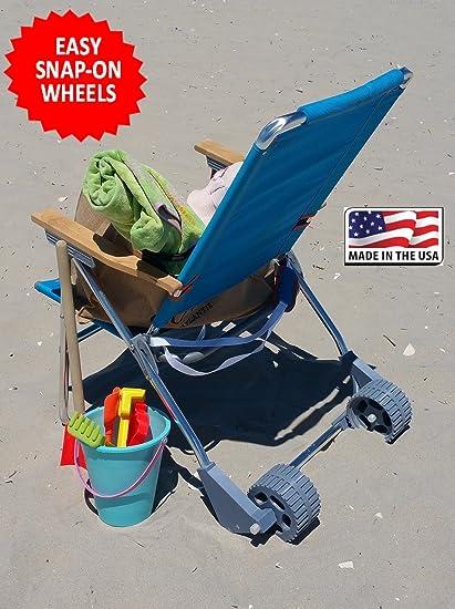 3d9a677ec23 Amazon.com   Beach Chair Wheels   Garden   Outdoor