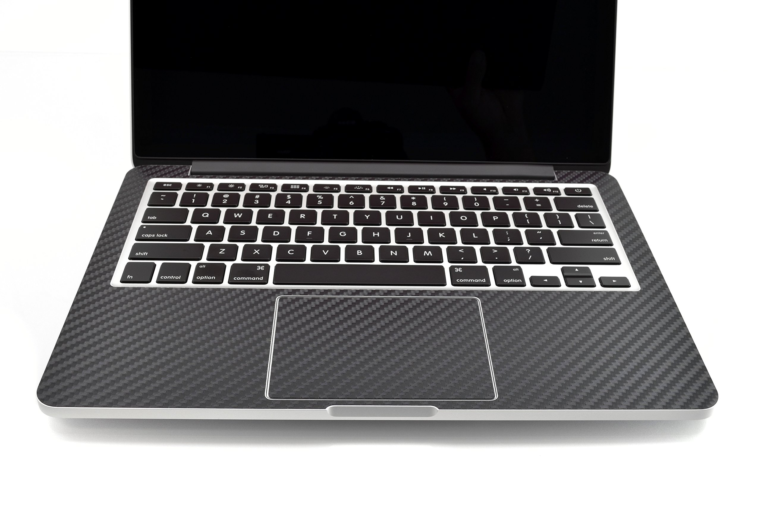 iCarbons Black Carbon Fiber Vinyl Skin for MacBook Pro 13'' Retina Full Combo by iCarbons (Image #3)