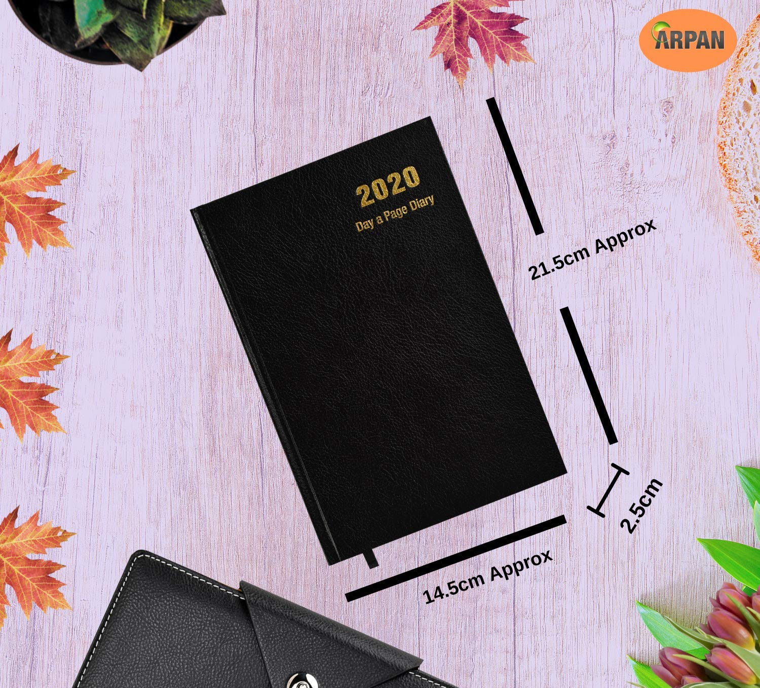 Amazon.com: A5 2017 One Day to Page Diary: Office Products