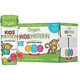 Orgain Organic Kids Protein Nutritional Shake, Strawberry - Great for Breakfast & Snacks, 21 Vitamins & Minerals, 10…
