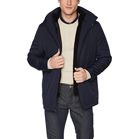 Calvin Klein Men's Rip-Stop Hooded Jacket