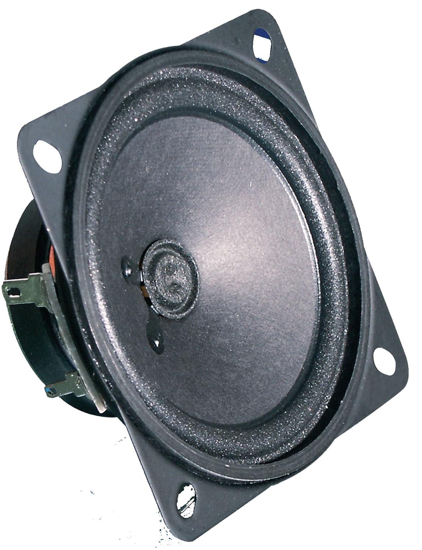 Visaton FR 87 10W Schwarz - Lautsprecher (8,64 cm (3.4 Zoll), Papier, 10 W, 15 W, 100 – 20000 Hz, 4 Ohm) 4630
