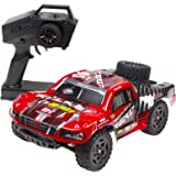 Cheerwing REMO Rocket RC Truck 1:16 2.4Ghz 4WD Remote Control Car High Speed Off-road Short Course Truck Red