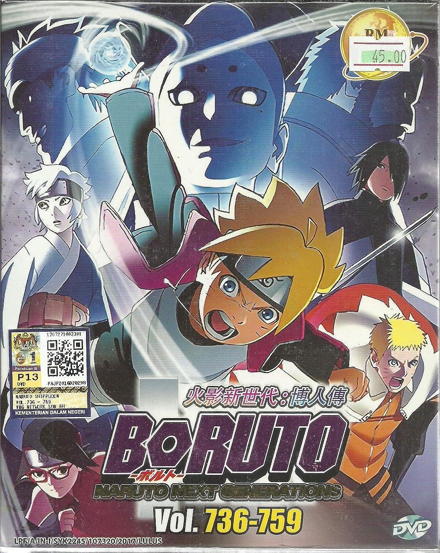 Amazon com boruto naruto next generations box 26 complete anime tv series dvd box set 736 759 episodes noriyuki abe movies tv