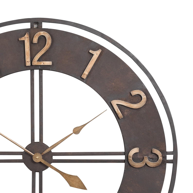 10 by 10-Inch 3dRose dpp/_50136/_1 Large Beautiful Flower Wall Clock
