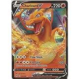 1x Charizard V 019//189 Ultra Rare NM-Mint Pokemon SWSH3 Darkness Ablaze