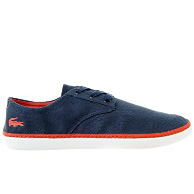 1c016c798 Lacoste Malahini Deck SEP Fashion Sneaker Casual Shoe - Navy Red - Mens -  9  Buy Online at Low Prices in India - Amazon.in