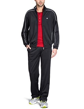 Champion - Chándal para Hombre, tamaño XL, Color Negro: Amazon.es ...