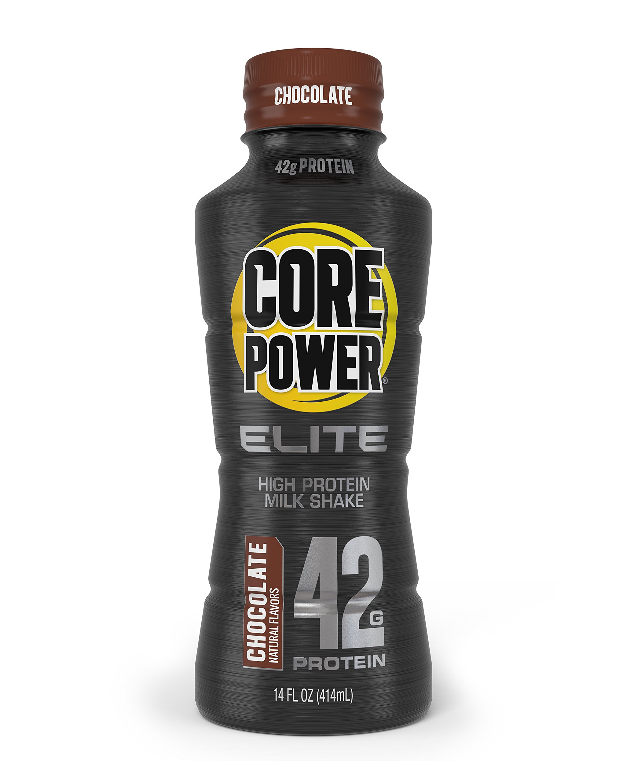Core Power Elite by fairlife High Protein (42g) Milk Shake, Chocolate, 14-ounce bottles 12 Count