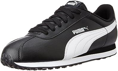 Puma Supergoal, Baskets Basses Homme, Noir (Black-White 01), 46 EU
