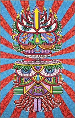 Sunshine Joy 3D Hungry Eyes Tapestry Beach Sheet Hanging Wall Art – Artwork by Chris Dyer – 60×90 Inches – Amazing 3-D Effects