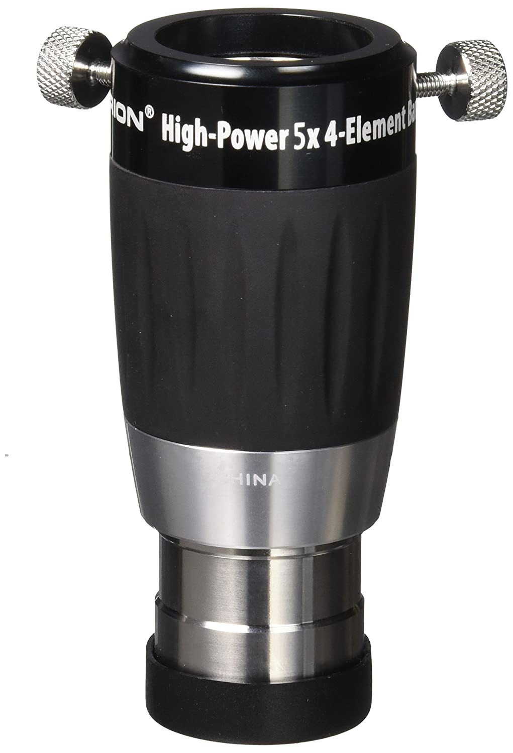 Orion 8715 High-Power 1.25-Inch 5x 4-Element Barlow Lens