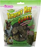 F.M.Brown's 44089 Brown's Natural Timothy Hay Cubes, 10-Ounce