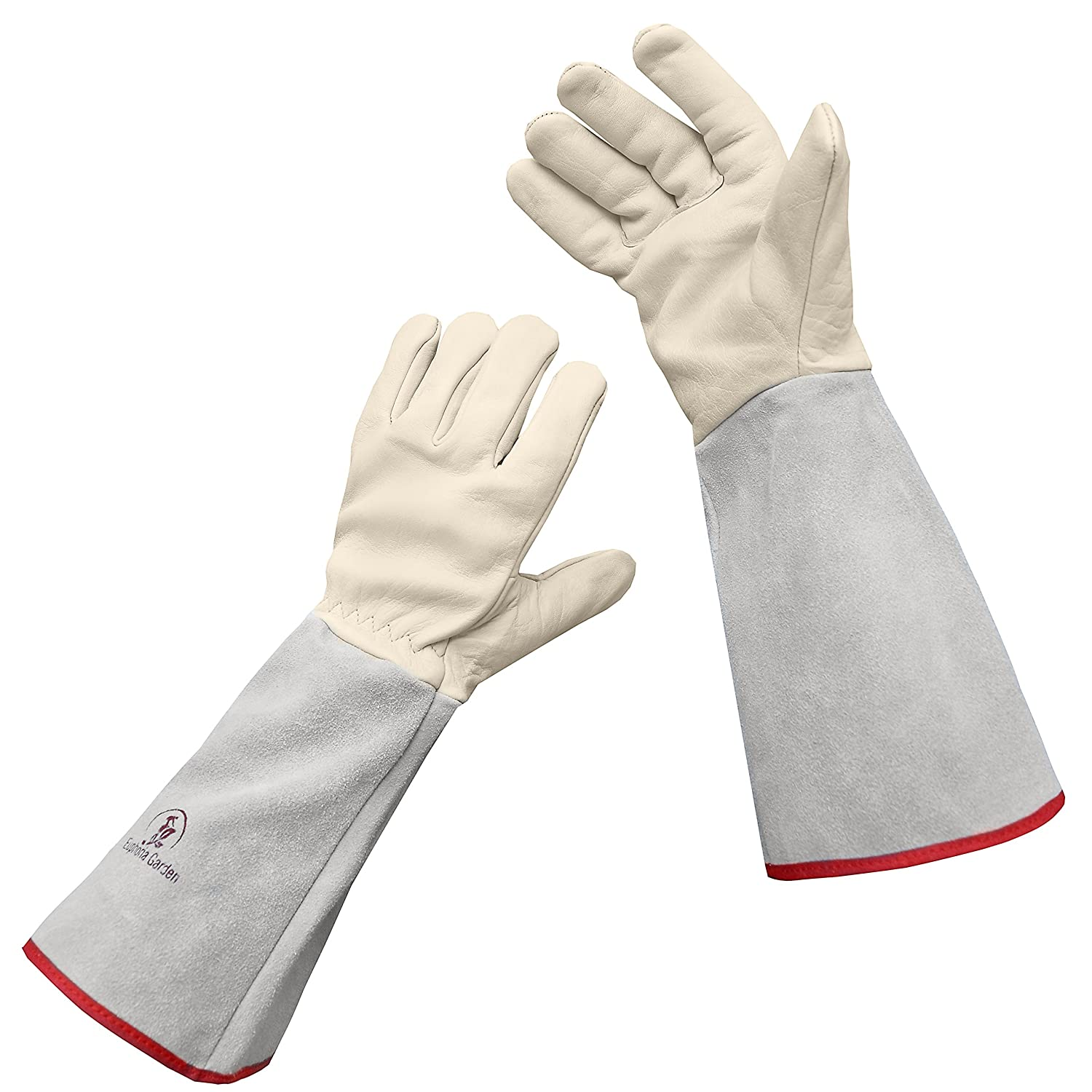 Euphoria Garden Thornproof Leather ROSE GARDENING Gauntlet Gloves – Small