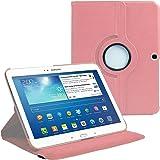 AM P5200 SOFT PINK Housse avec film de protection d'écran/stylet pour Samsung Galaxy Tab 3 Rose