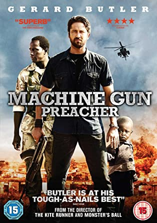 Machine Gun Preacher Dvd Amazon Co Uk Gerard Butler Michelle