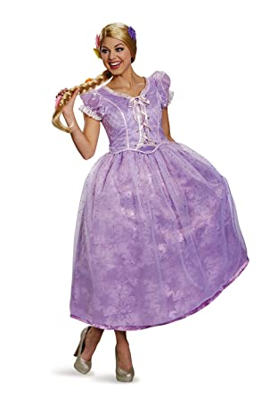 Amazon Com Disguise Women S Tangled Rapunzel Ultra Prestige Costume