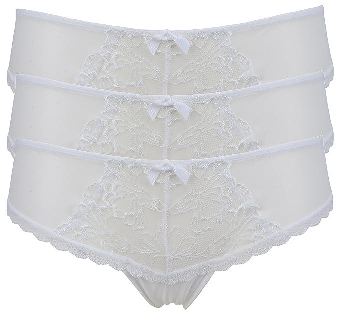 Ex Store No VPL Mesh Spot Shorts