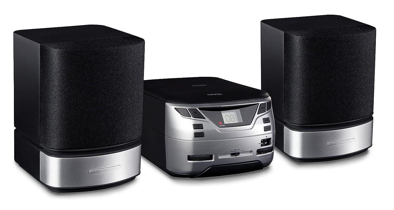 Nikkei NMC321Micro Sistema de Alta fidelidad (FM, CD, Entrada Auxiliar), Color Negro