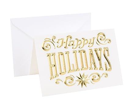 Amazon hallmark signature holiday greeting card happy hallmark signature holiday greeting card happy holidays m4hsunfo