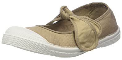 Bensimon Unisex-Kinder Tennis Flo Sneaker, Beige (Beige Coquille), 25 EU
