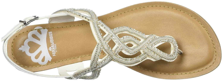 Fergalicious US|White Women's Supra Sandal 6 M US|White Fergalicious B0761833W8 e37a17
