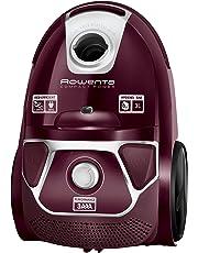 Rowenta Compact Power Morado RO3969EA - Aspirador trineo con bolsa de alta filtración y filtro permanente gran eficiencia, depósito de 3 L, cable de 6.2 m, accesorios de coche para más versatilidad