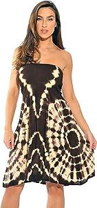 21611-BP-1X Riviera Sun Strapless Tube Maxi Dress / Summer Dresses
