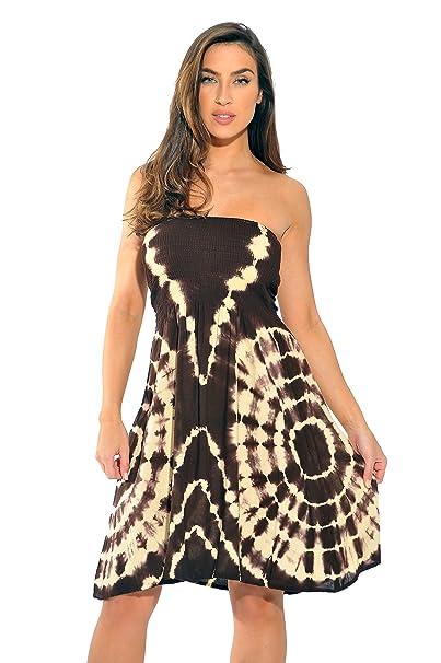 1b5b7f29f92c2 Riviera Sun Strapless Tube Short Dress Summer Dresses