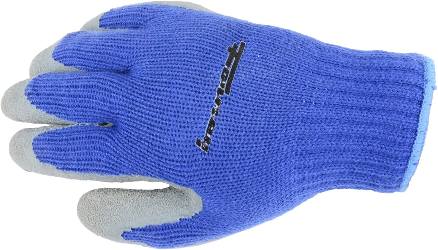 Forney 53233 Nitrile-Dipped Seamless Knit Premium Thermal Mens Gloves X-Large