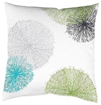 Home Fashion 66899 - 168 Verde 50 x 50 cm Funda de Almohada ...