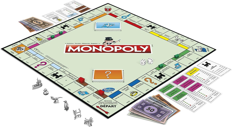monopoly jeux de société pour la famille