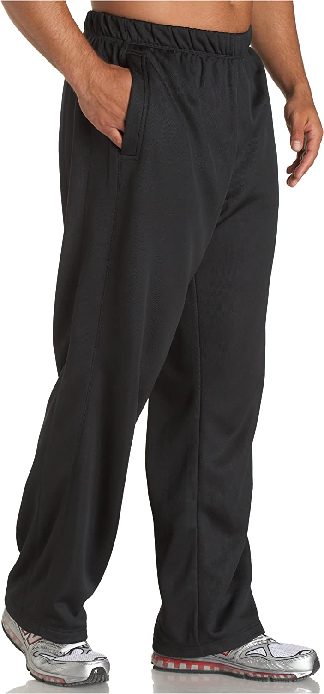 reebok men's fleece pants