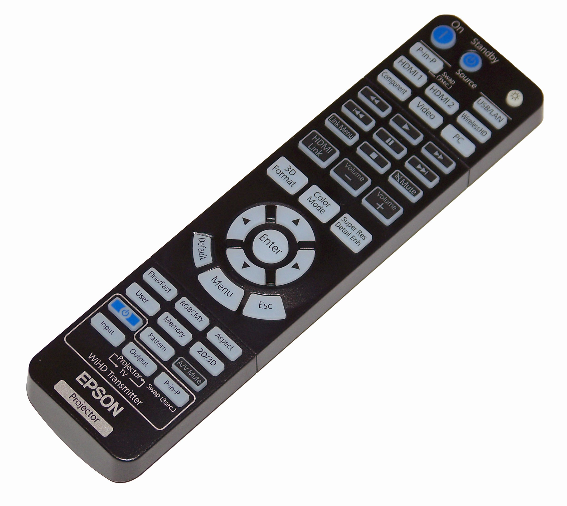 Epson Projector Remote Control: PowerLite Home Cinema 3000, PowerLite Home Cinema 3500, PowerLite Home Cinema 3600e by Epson