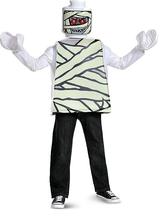 LEGO Disfraz de momia (tamaño mediano, 7 a 8 años): Amazon.es ...