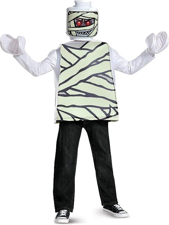 LEGO Disfraz clásico de momia (talla S, de 4 a 6 años): Amazon.es ...