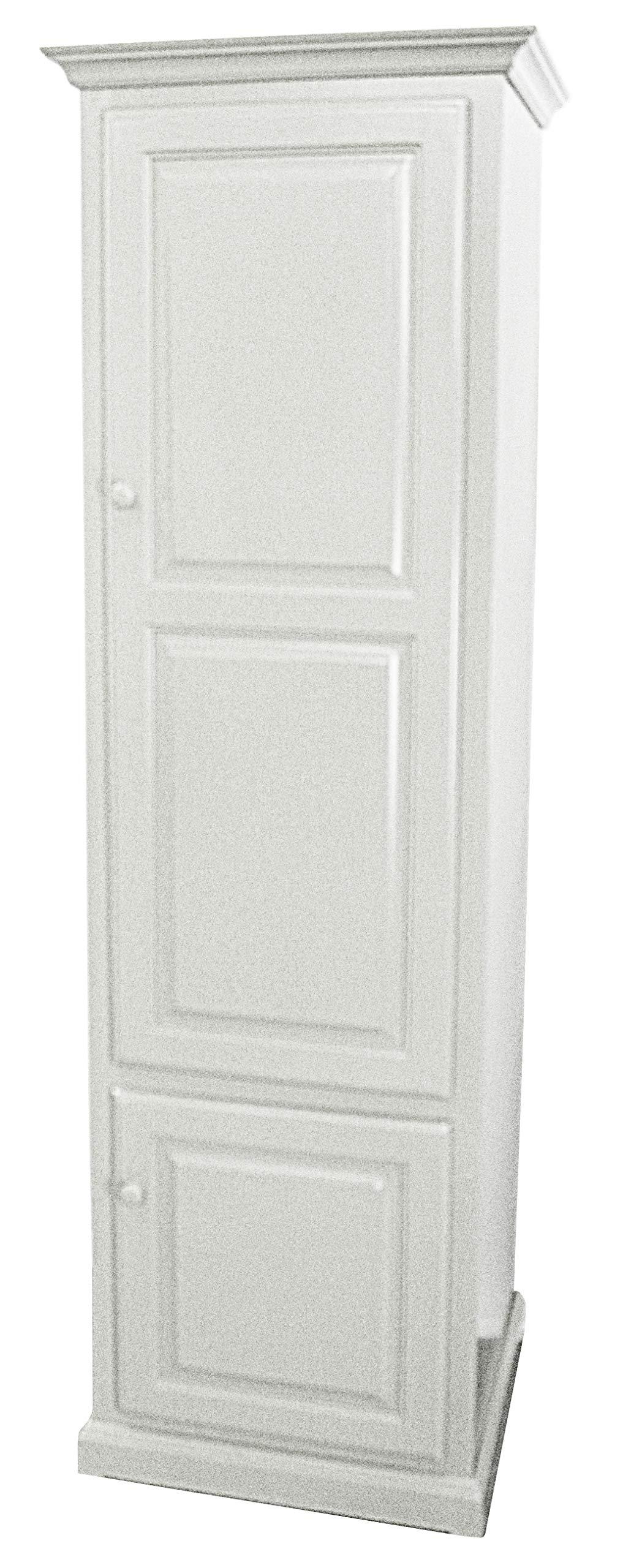 American Heartland Poplar Single Door Pantry, Bright White by American Heartland MFG.